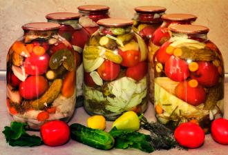 Проверенный годами рецепт консервации «Огород»