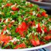 Оригинальный и очень вкусный салат из баклажанов! Созывайте гостей и пробуйте