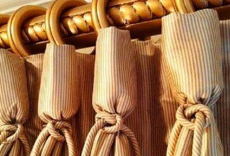 19 красивейших способов подвешивания штор