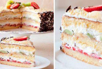 Быстрый пирог на кефире «Сама нежность»