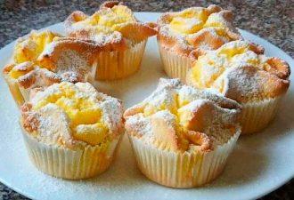 Невероятная вкусность из творога — итальянские пирожные «Соффиони»