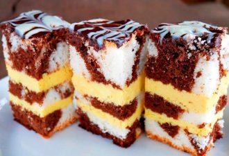 Торт с необыкновенным кремом