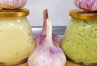Ароматная чесночная паста для гурманов: заготовка на целый год