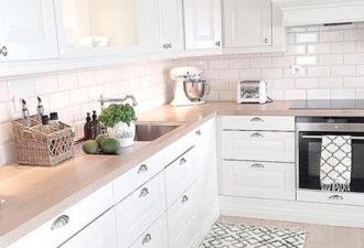 30 фантастических идей белой кухни