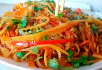 Картофель «Вок» по-китайски