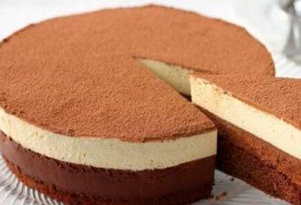 Очень нежный и вкусный торт «Шоколадный дуэт»