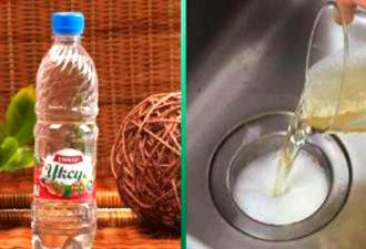 Зачем нужно выливать уксус в раковину, или 8 причин хранить средство в шкафчике на кухне
