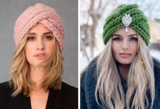 Самая модная шапка сезона чалма