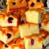 Очень воздушный и аппетитный пирог на минералке с фруктами