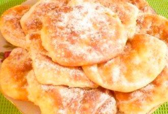 Быстрые творожные булочки: пальчики оближешь