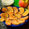 Необычный и быстрый десерт — жареные яблоки по-французски