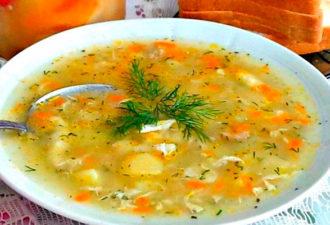 """Как у бабушки в деревне — """"Суп-затируха"""". Просто и очень вкусно!"""