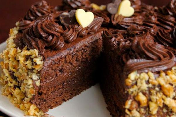 Вкусный и простой шоколадный тортик