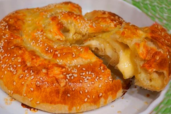 Сырная улитка: как же это вкусно и быстро