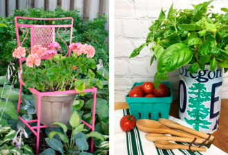 Красивые идеи декора для сада