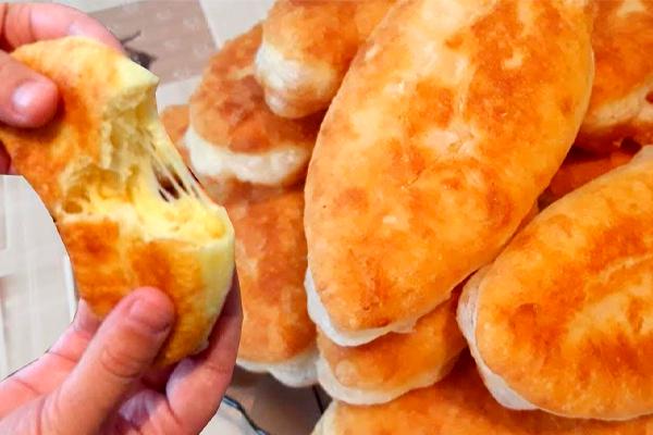 Улетные пирожки на кефире + супер пышные, супербыстрые и вкусная начинка