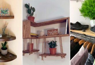 Полезные идеи практичного использования углов в квартире