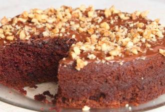 Шоколадный торт из простых продуктов. Быстро и вкусно