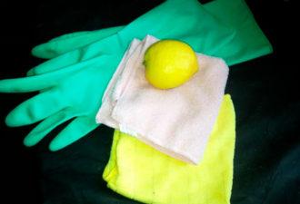 Лимонная чудо-тряпка против пыли