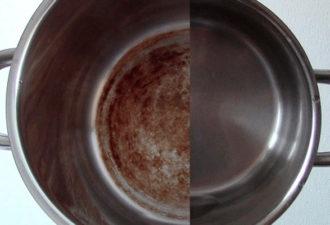 Супер средство для чистоты кастрюль