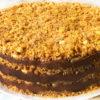 Нежный и вкусный ореховый торт без выпечки