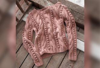 Узоры для создания изумительного свитера
