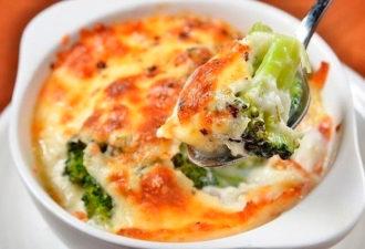 Моя любимая запеканка с брокколи и сыром «Море счастья»