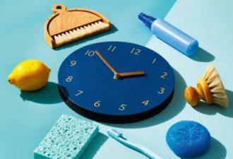 Как убирать, если совсем нет времени на уборку