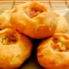 Татарские пирожки с мясом и картошкой