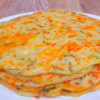 Завтрак за 15 минут: сырные блины на кефире