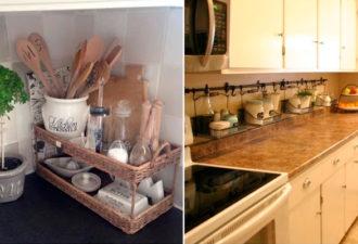 30+ изобретательных идей для кухонных столешниц: они помогут сохранить желанную чистоту