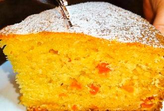 Нежный и мягкий, творожный пирог к чаю за 10 минут