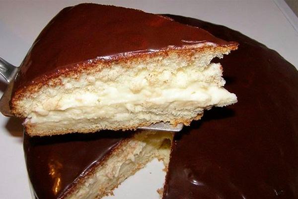 Торт «Нежный», который просто тает во рту