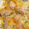 Запечённая семга с картофелем — идея для королевского ужина