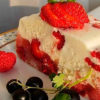 Низкокалорийный тортик без выпечки