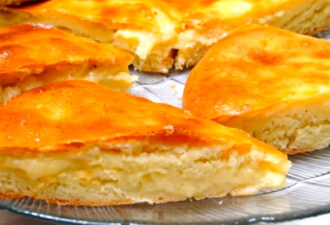 Осетинский пирог «Картофджин» за 10 минут!