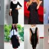 Как освежить надоевшее черное платье — 42 модели, кардинально меняющие образ!