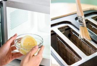 Как с помощью подручных средств очистить кухонную технику от загрязнений
