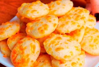 Берем стакан кефира и маленький кусочек сыра! Изумительные печеньки «Конопушки»