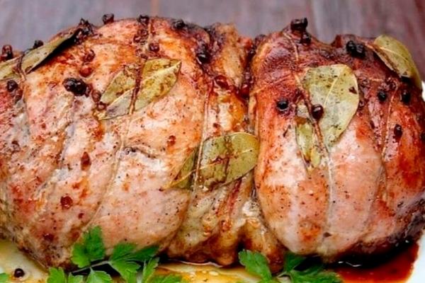 Рецепт приготовления вкуснейшей буженины