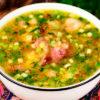 Бесподобно вкусный и ароматный гороховый суп