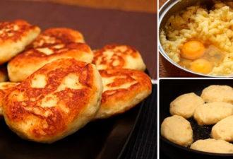 Вкусные картофельные котлетки, можно делать с начинкой и без нее