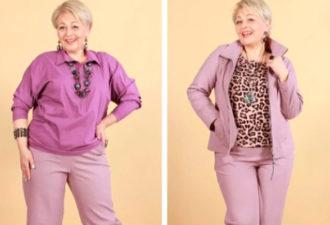 Стильно и красиво: удачные образы для полных женщин элегантного возраста