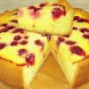 Нежнейший сметанный пирог