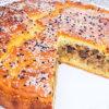 Заливной пирог из печени и нежного теста