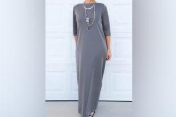 Шьем трикотажное платье