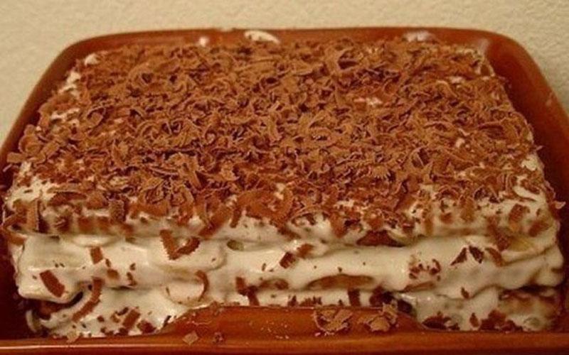 Торт из печенья на скорую руку. Невозможно отказаться