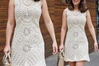 Узоры для платья изумительной красоты