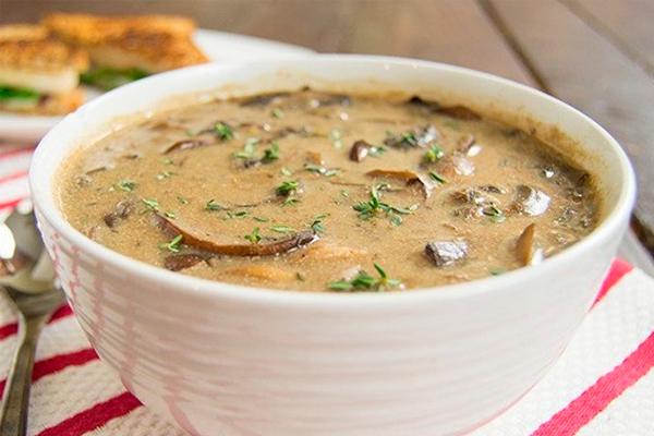 Рецепт вкуснейшего грибного крем-супа