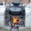 Идеи: как с минимальными затратами сделать плиту для приготовления пищи на свежем воздухе